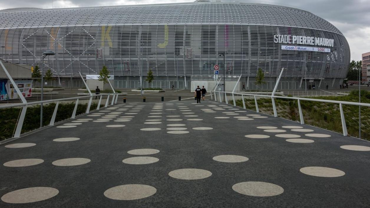 Stade Pierre Mauroy à Lille