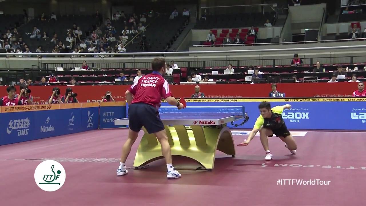 Joueurs de tennis de table